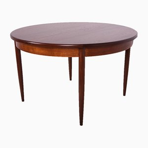 Round Teak & Rosewood Fresco Dining Table from G-Plan, 1960s