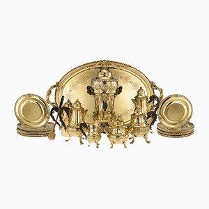 Französisches Silbernes Tafelservice, 19. Jh. Von Maison Cardeilhac für Maison Cardeilhac, 1870er, 20er Set