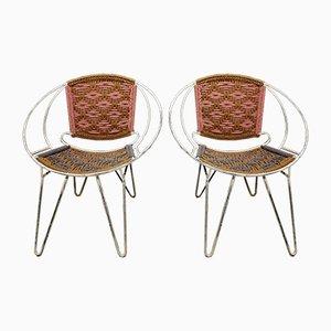 Chaises d'Appoint, 1950s, Set de 2
