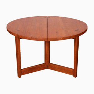 Round Dining Table by Jacob Kielland-Brandt for I. Christiansen, 1960s