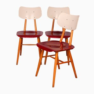 Dining Chairs from TON, 1960s, Set of 3