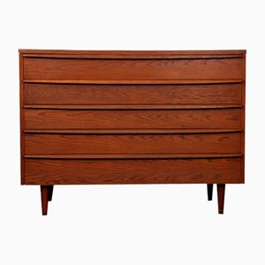 Oak Chest of Drawers from Drevozpracujici Podnik, 1960s