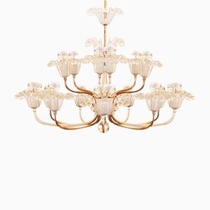Large Mid-Century Chandelier by Emil Stejnar for Rupert Nikoll