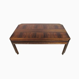 Swedish Rosewood Coffee Table from HMB, 1970s