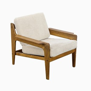 Danish Teak Lounge Chair by Arne Wahl Iversen for Komfort, 1960s