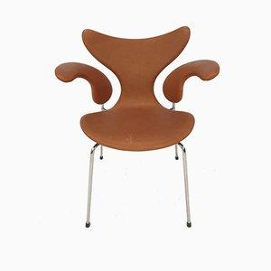 Sedia girevole Seagull di Arne Jacobsen per Fritz Hansen, anni '60