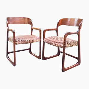 Mid-Century Lounge Chairs from Baumann, Set of 2