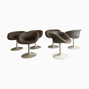 Swivel Chairs by Pierre Paulin for Artifort, Italy, 1965, Set of 8
