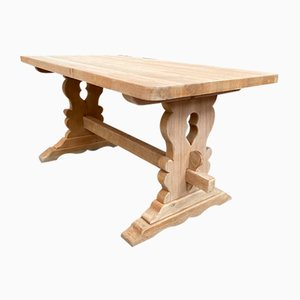 Kleiner Klostertisch aus Eiche