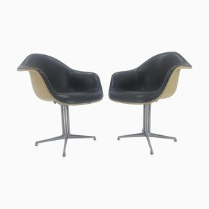 Armchairs by Herman Miller for Charles & Ray Eames, 1960s, Set of 2