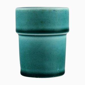Miniatur Vase aus glasierter Keramik von Royal Copenhagen, 1920er