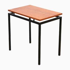Teak Wood Minimalist Side Table
