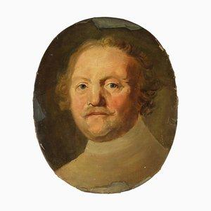 Male Portrait, Oil on Canvas