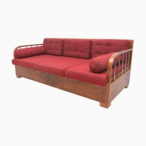 Cataloque Functionalist H-215 Sofa by Jindrich Halabala for UP Zavody, 1930s