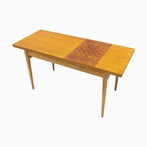 Mid-Century Coffee Table with Chess Pattern by Hikor Písek, 1960s, Czechoslovakia
