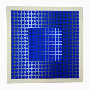 Vasarely, Kinetics 6, 1965, Silkscreen