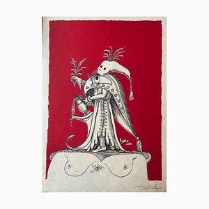 Salvador Dali, The Comical Dreams Pantagruel, 1973, Lithograph