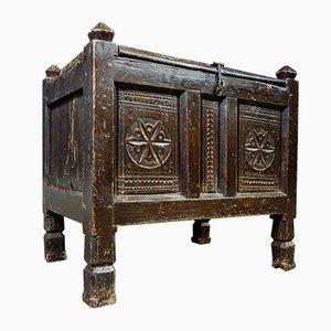 Wooden Flea Box, 19th Century