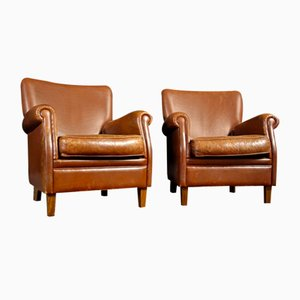 Vintage Leather Brown Fauteuil