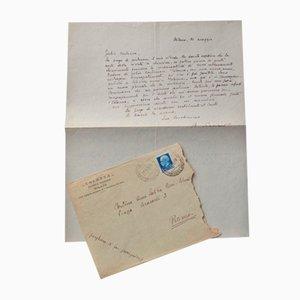 Lettre Autographe Filippo De Pisis, 1934