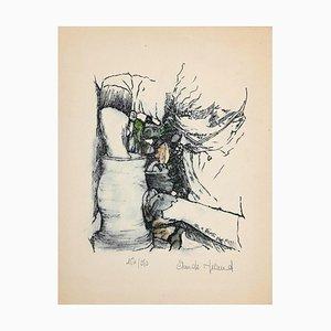 Claude Nicaud, Landschaft, Lithographie, spätes 20. Jahrhundert