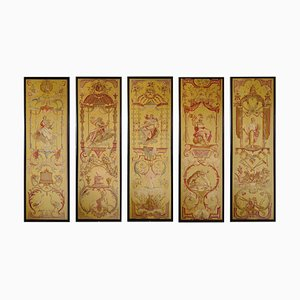 Aubusson Tapestries, Set of 5