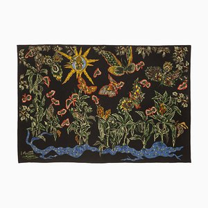 Black Cotonou Tapestry by Jean Lurçat