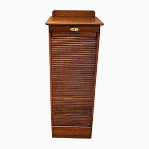 Edwardian Oak Filing Cabinet