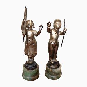 Dutch Figures, Set of 2