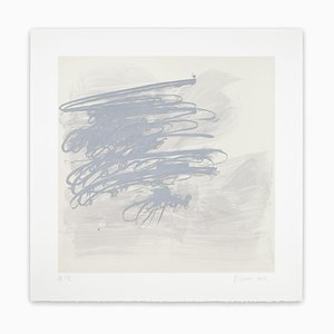 Jill Moser, Rod, Abstract Lithograph, 2012