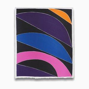 Teilweise bestelltes Set, Abstrakt, Acryl auf Papier, 2016