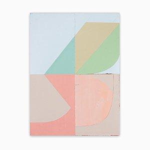 Kolibri, abstrakte Malerei, 2020, Acryl auf Papier