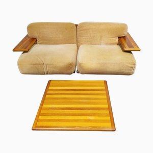 Sofa Set von Mario Bellini für Cassina, 3er Set
