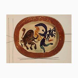 Vintage Keramik Druck von Matador
