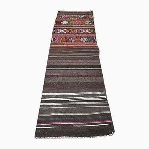 2x8 Türkischer Vintage Kelim Läufer Oushak Handgewebte Wolle | Etsy