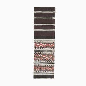 Handgefertigter türkischer Vintage Kilim Teppich aus Wolle