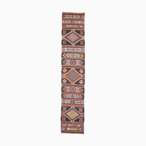 Vintage Turkish Kilim Handmade Wool Rug