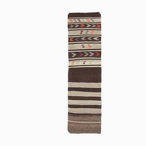 Kilim Vintage Turkish Runner Rug