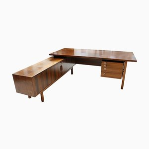 Wood Desk by Arne Vodder, Denmark, 1960s
