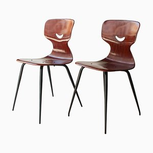 Stühle von Adam Stegner für Pagholz Flötotto, 1960er, 2er Set