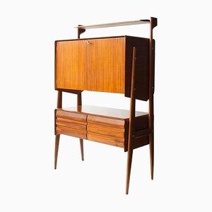 Mid-Century Rectangular Oak Italian Sideboard, 1950s