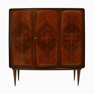 Mid-Century Wooden Bar Cabinet, Italy, 1950s