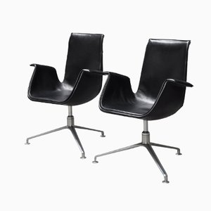 Model 6727 Tulip Chair by Preben Fabricius & Jørgen Kastholm for Walter Knoll, 1950s