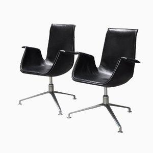 Modell 6727 Drehbarer Tulip Chair von Preben Fabricius & Jørgen Kastholm für Walter Knoll, 1950er