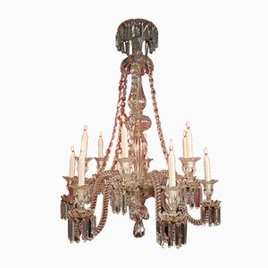 19th Century Crystal Chandelier from Baccarat