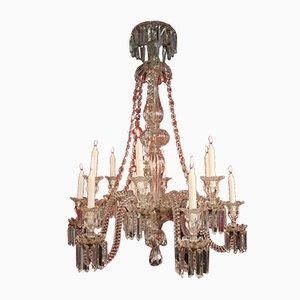 Kristallglas Kronleuchter aus 19. Jhdt. Von Baccarat
