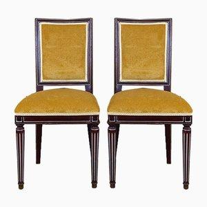Spanische Louis XVI Beistellstühle, 1940er, 2er Set