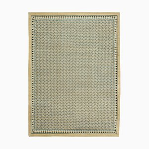 Beige Decorative Handwoven Carpet, 1990s