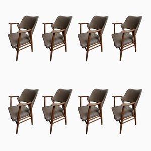Chaises de Salon par Cees Braakman pour Pastoe, 1960s, Set de 8