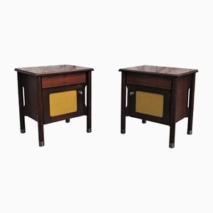 Rosewood Console Tables, 1970s, Set of 2